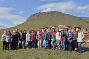 Участники информационного тура в Поселок предков