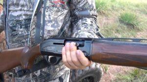 Гладкоствольное ружье задержанных браконьеров