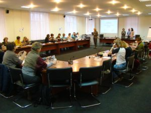 Участники тренинг-семинара по интерпретации