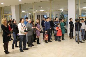 открытие выставки копий петроглифов