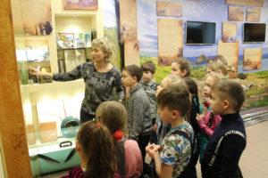 Экскурсия в Музее природы заповедника Хакасский