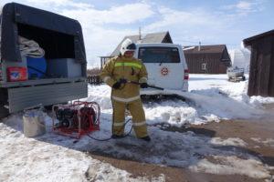 Проверка противопожарного инвентаря
