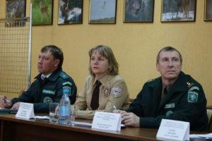 """Директор и руководители отделов заповедника """"Хакасский"""""""