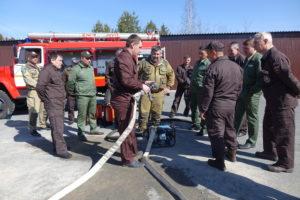 Проверка технического состояния противопожарного инвентаря