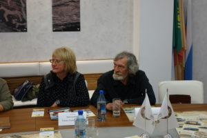 Представители Сибирской Ассоциации исследователей первобытного искусства г. Кемерово