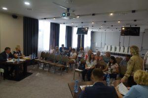 Пленарное заседание III треинг-семинара для Российских ООПТ